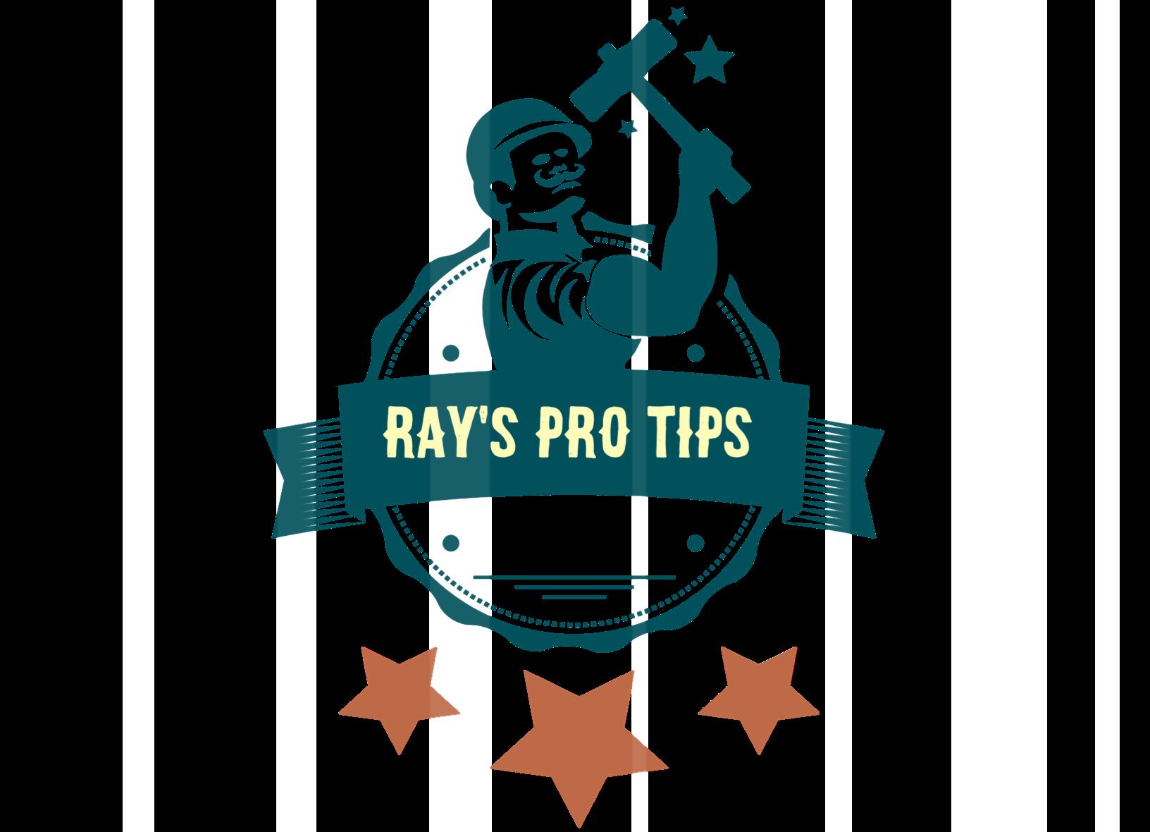 Ray's Pro Tips