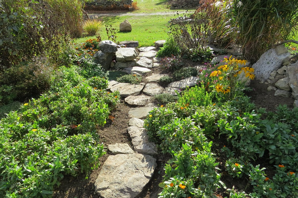 Nothing says welcome home like a nice garden path!